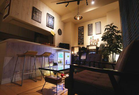 まるでおしゃれなカフェのようなリラックス空間!
