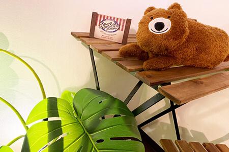 ラテショコラ静岡の店内写真