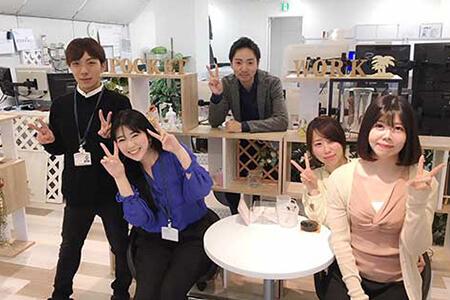 ポケットワーク福岡店の店内写真
