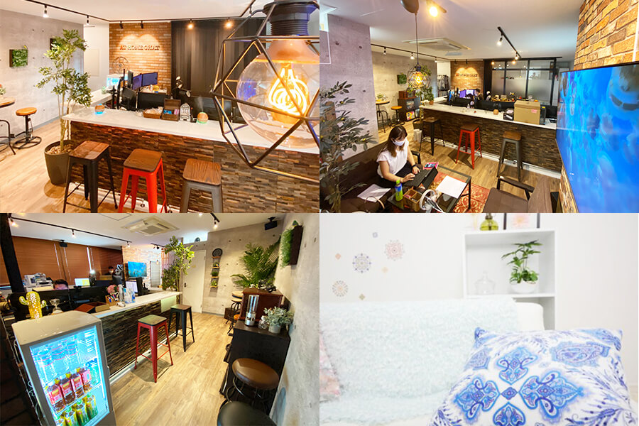 アットグループ横浜店の店内写真